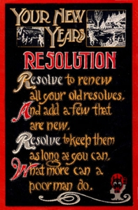 NewYearsResolution1915SecondPostcard
