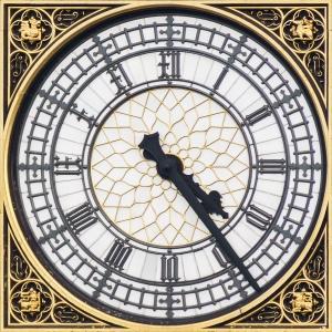Big Ben Inner Clock Face